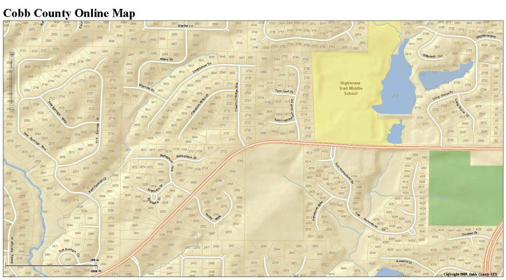 LFHOA map